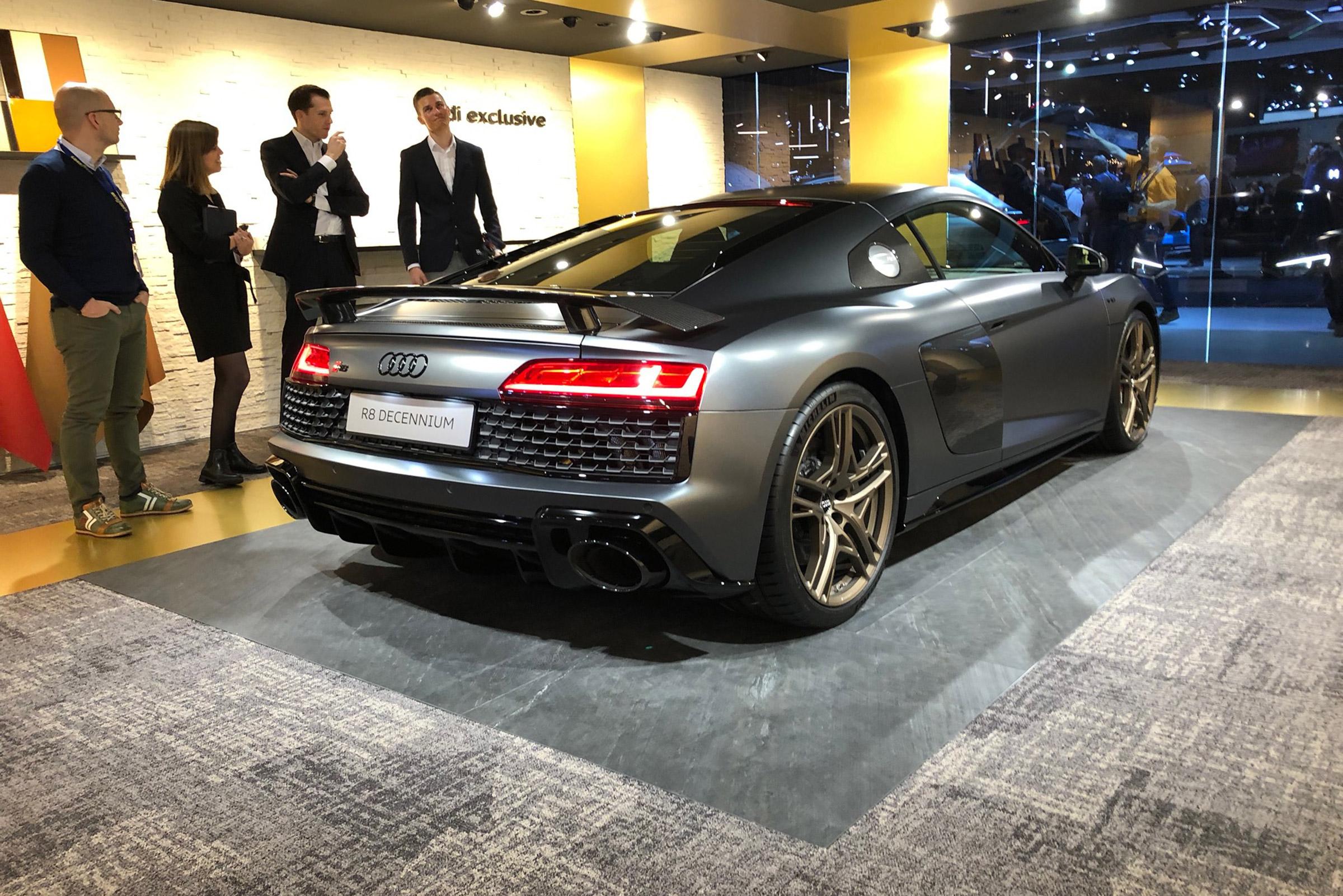 Audi R8 Decennium Revealed At Geneva 2019 To Celebrate A