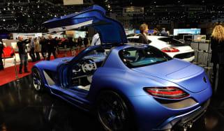 Geneva 2011: FAB Design Mercedes SLS AMG