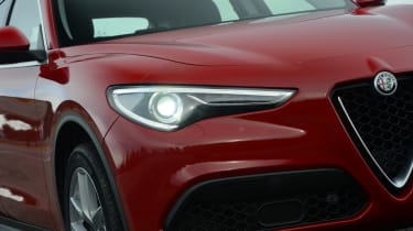 Alfa Romeo Stelvio - headlight