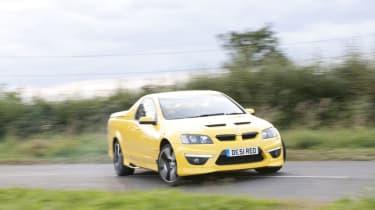 Vauxhall Maloo drift