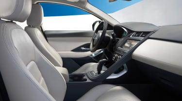 Jaguar E-Pace - driving static R Design interior 4
