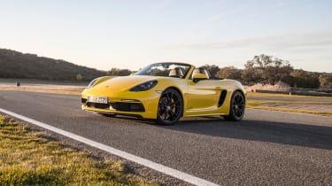 Porsche 718 Boxster GTS – front quarter