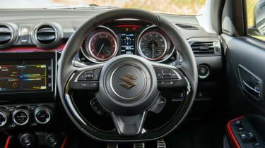 Suzuki Swift Sport - steering wheel