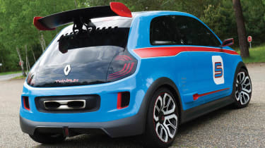 Renault TwinRun hot hatchback concept car