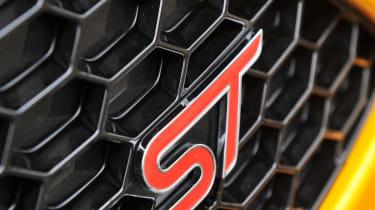 2012 Ford Focus ST badge