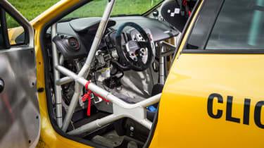 Renault Clio Cup racer interior