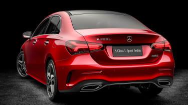 Mercedes A-class saloon - rear