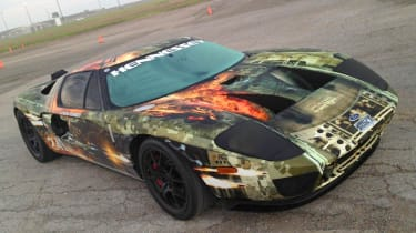 Hennessey Ford GT hits 267mph