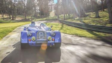Morgan Plus 8 50th Anniversary Edition –  rear