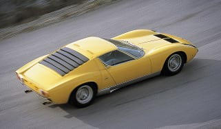 Lamborghini Miura louvred engine cover