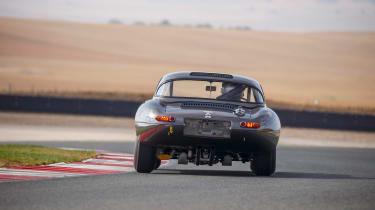Lightweight Jaguar E-Type - rear