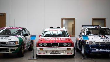 Bastos BMW M3 – Prodrive factory