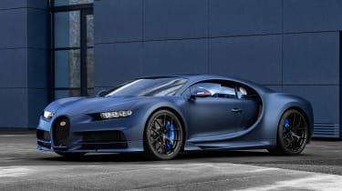 Bugatti Chiron 110 edition - front quarter