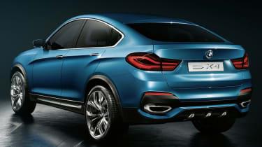 2014 BMW X4 Concept rear quarter