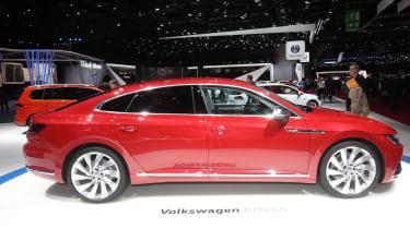 Volkswagen Arteon - Geneva side profile
