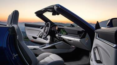 Porsche 911 Cabriolet 992 - dash