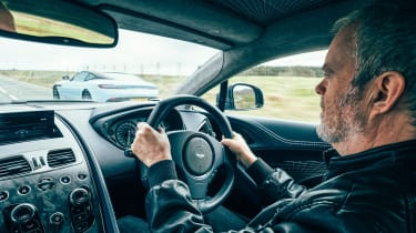 Aston Martin Vanquish S - driver shot
