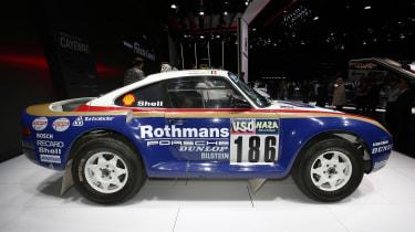 Porsche 959 Group B – side