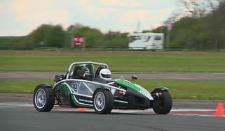 Ariel Atom racing at Bedford How Fast