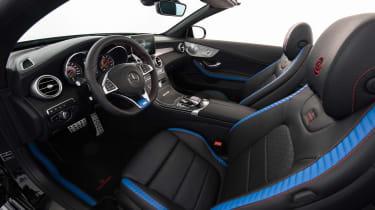 Brabus 650 Cabrio interior