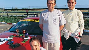 RJN Motorsport Martin Lucas and Darren Achilles