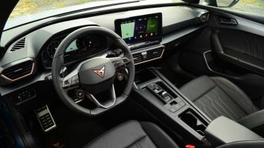Cupra Leon 300–interior