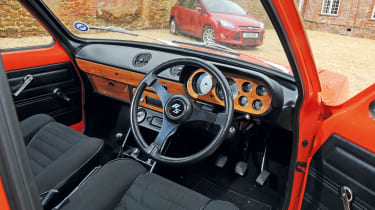 Ford Escort Mexico – interior