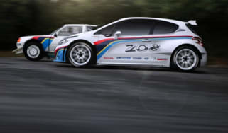 Peugeot 208 T16 rally car