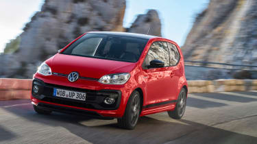 Volkswagen Up GTI 2018 front tracking