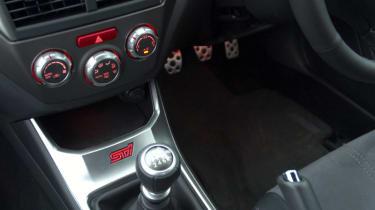 Subaru Impreza WRX STI Type UK console