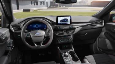 2019 Ford Kuga PHEV - dash