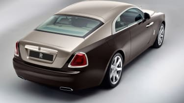 Rolls-Royce Wraith rear two-tone