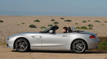 2013 BMW Z4 sDrive18i hard top roof open