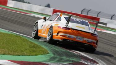 Sean Edwards Porsche Mobil 1 Supercup