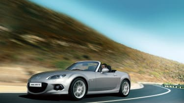 Mazda MX-5 updated