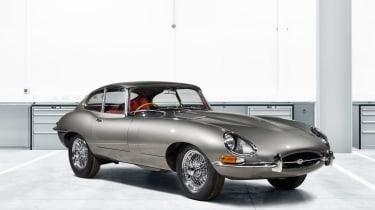 Jaguar E-Type classic front
