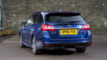 Subaru Levorg rear three quarters