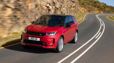 Land Rover Discovery Sport - nose