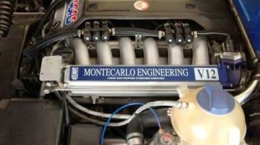 Montecarlo Rascasse supercar 5.4-litre V12 BMW engine