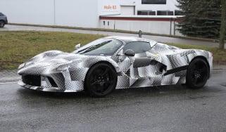 2021 Ferrari hybrid hypercar prototype - front quarter