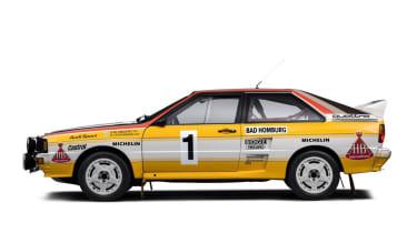 Audi Quattro - Profile