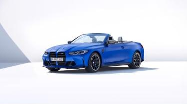 BMW M4 Competition Convertible –front quarter