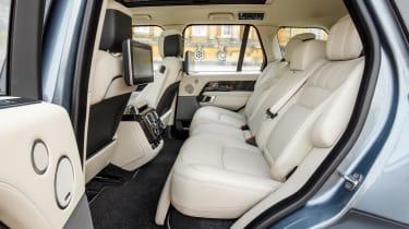 Range Rover P400e PHEV rear seats