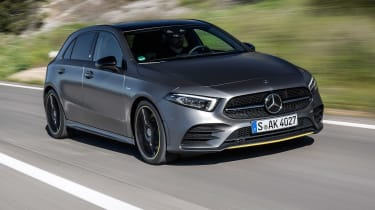 Mercedes A-class - quarter