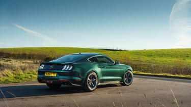 Ford Mustang Steve McQueen Bullitt Edition – rear quarter static