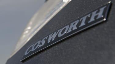 Subaru Impreza Cosworth CS400 badge