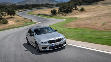 BMW M5 Competition review - nose