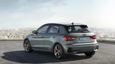 Audi A1 2018 revealed - rear quarter