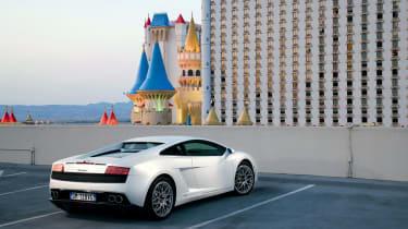 Lamborghini Gallardo LP560-4 rear three quarter