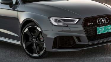 Audi RS3 Sportback Grey front detail